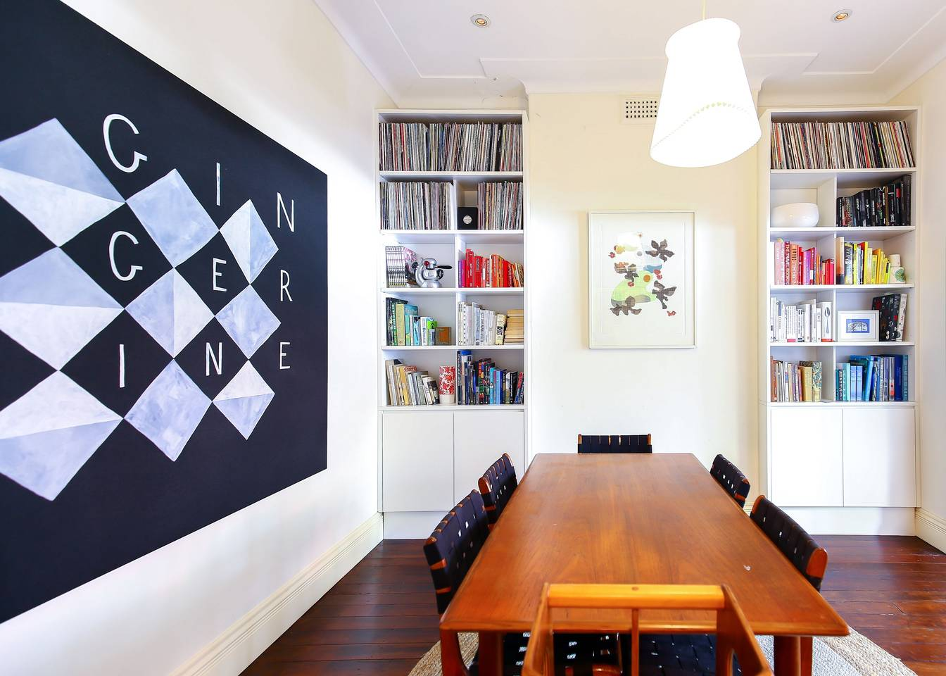 Stylish and Artistic Kirribilli Family Home